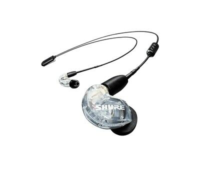 NEW! Shure SE215 Sound Isolating Earphones - Clear • 97.28£