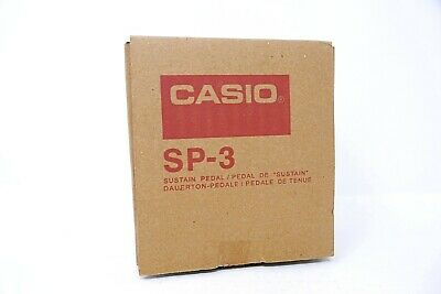 Genuine Casio SP3 Pad Style Electronic Keyboard Sustain Pedal SP-3 SP3R • 11.99£