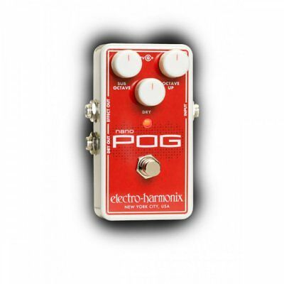 Electro Harmonix Nano POG Octave Effects Pedal For Guitar • 183£
