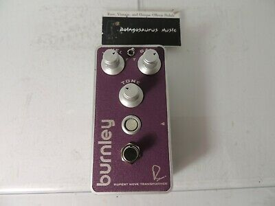 Bogner Burnley Distortion Overdrive Effects Pedal Free USA Shipping • 115£