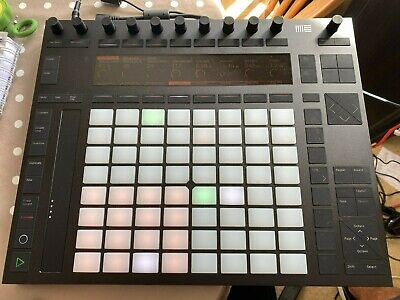 Ableton Push 2 Midi Controller With Case • 280£