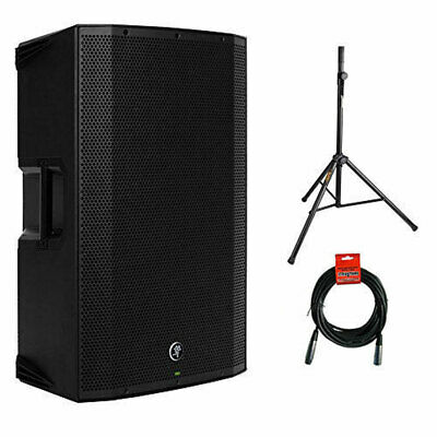 Mackie Thump15BST Boosted 1300W 15  Powered Loudspeaker W/ Speaker Stand & Cable • 383.59£