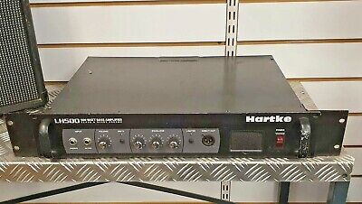 Hartke LH500 500W Rackmount Bass Amplifier Head • 169.99£