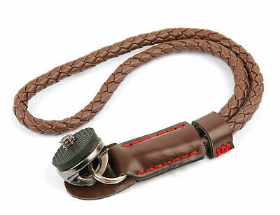 Braided Faux Leather Wrist / Hand Strap For Casio Exilim Hi-Zoom EX-H5 • 11.99£
