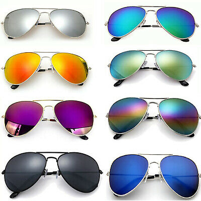 Fashion Wayfare Aviatore Sunglasses Retro 80'S Fashion Mens Ladies Geek UV400 • 2.99£