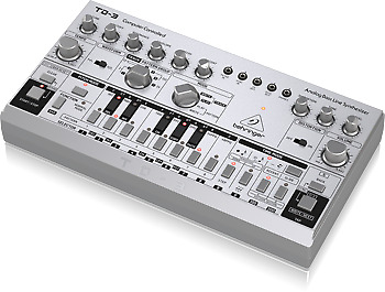 Behringer TD-3-SR VCO, VCF, 16-step Sequencer 16-voice Polychain Synthesizer • 233.50£