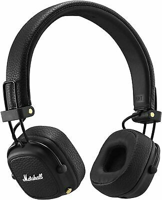 Marshall Major III Foldable Bluetooth Headphones - Black… • 77.99£