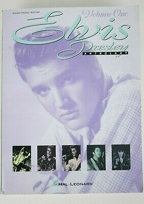 Elvis Presley Anthology Volume 1 Sheet Music Piano Vocal Guitar Songbook • 13.39£