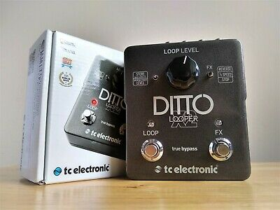 TC Electronic Ditto X2 Looper Guitar Pedal • 109£