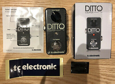 TC Electronic Ditto Looper Guitar Pedal - Excellent Condition • 59£