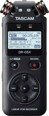 Tascam DR-05X Stereo Handheld Digital Audio Recorder And USB Audio Interface • 112.98£