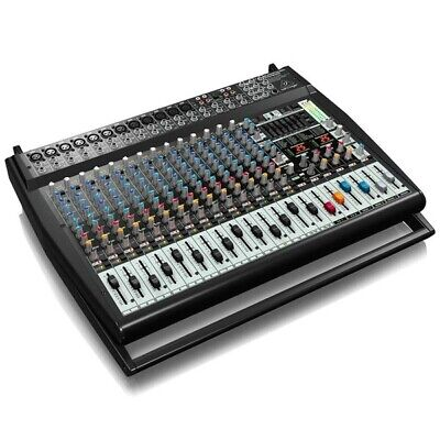 Behringer PMP6000 20-Channel Powered Mixer Dual Multi-FX Processor (Faulty) • 309£