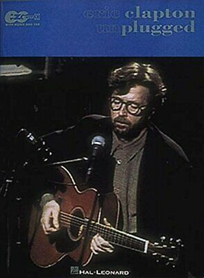 Eric Clapton: Unplugged E-Z Play Guitar New Sheet Music Book • 11.27£