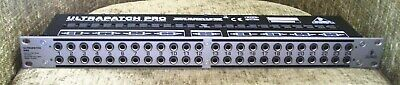 Behringer PX3000 Ultrapatch Pro 48-Point Balanced Patchbay • 30£