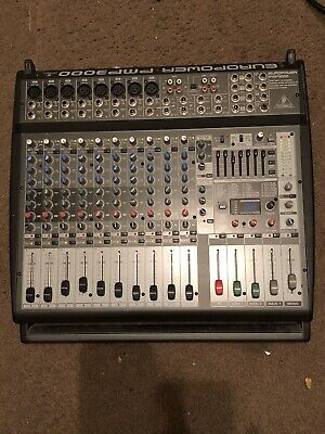 Behringer PMP3000 12-Channel Powered Mixer • 283.68£