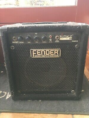 Fender Rumble 15 Bass Amp • 0.01£
