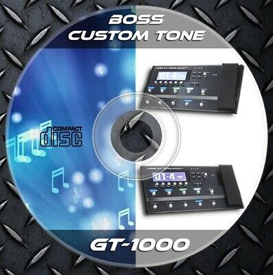 200 Patches BOSS GT-1000. Multi Effects Processor. Custom Tone Preset Library • 6.99£