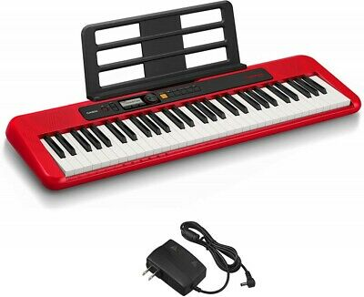 CASIO Electronic Keyboard Casiotone CT-S200RD Red 61key From Japan F/S • 212.85£