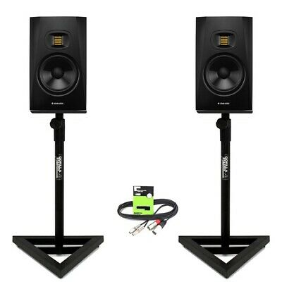 Adam Audio T7V Active 7  DJ Studio Monitor Speaker (PAIR) With Stands + Cable • 359£