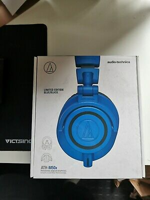 Audio-Technica ATH-M50X Wired Headphones - Blue And Black Limited Edition • 85£