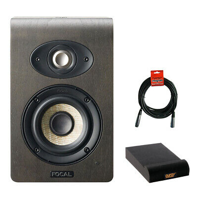 Focal Shape 40 Studio Speaker Monitor, Single W/ Isolation Pad & XLR Cable • 464.70£