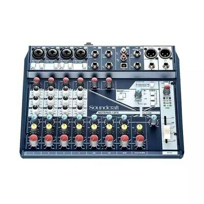 Soundcraft Notepad 12FX - 12-Channel Compact Mixer With 4-Channel USB & Effects • 108.65£