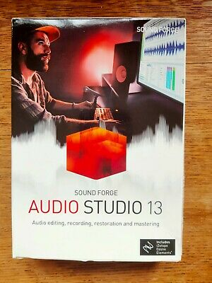MAGIX Sound Forge Audio Studio 13 - Brand New Boxed • 32.50£