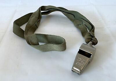 Vintage Acme Thunderer Plated Brass Sports / Police / Army Whistle • 8.95£
