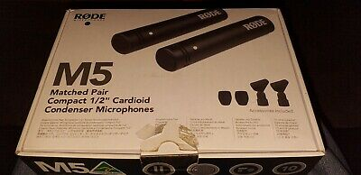 "RØDE M5 Matched Pair Of Compact 1/2"" Condenser Microphones • 49£"
