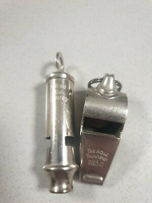 Alfred De Courcy & The Acme Thunderer Job Lot Whistles • 20£