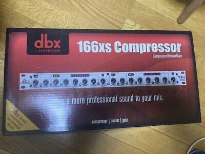 Dbx 166xs Standard Stereo Compressor PeakStop Automatical Mode ABOVE Indicator • 171£