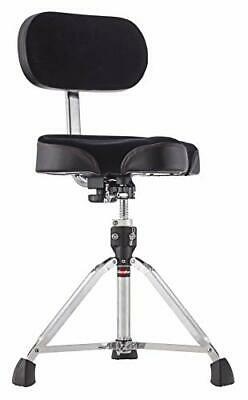 Gibraltar 9608MB Bike Seat Style Large Cordura Drum Throne With Backrest • 190.90£