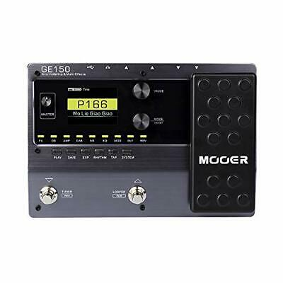 MOOER GE150 Electric Guitar Amp Modelling Multi Effects Pedal • 180.27£