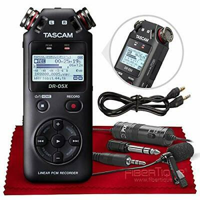 Tascam DR-05X Stereo Handheld Digital Audio Recorder with USB Audio Interface...