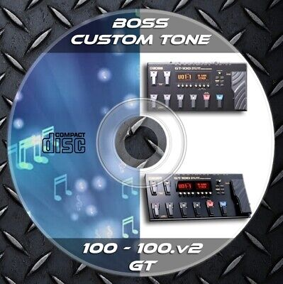 Patches BOSS GT-100 & GT 100v2. Multi Effects Processor. Custom Tone Library • 8.25£