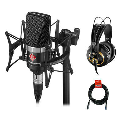 Neumann TLM-102 Studio Microphone Studio Set W/ AKG K 240 Headphones & Cable • 593.04£