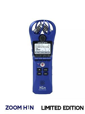 Zoom H1n Professional Stereo Handy Recorder / Fast P&P / UK Limited Edition Vers • 119.99£