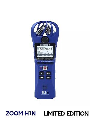 Zoom H1n Professional Stereo Handy Recorder + Gift Fast P&P UK • 129.99£