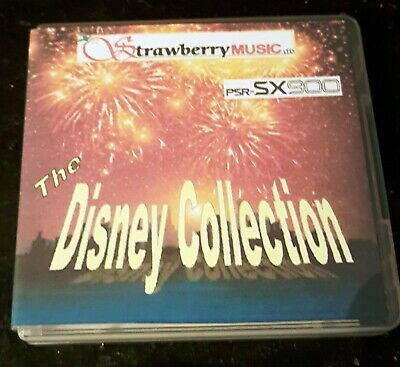 THE DISNEY COLLECTION USB 800 Registrations For Yamaha PSR-SX900 SX700 • 59.99£