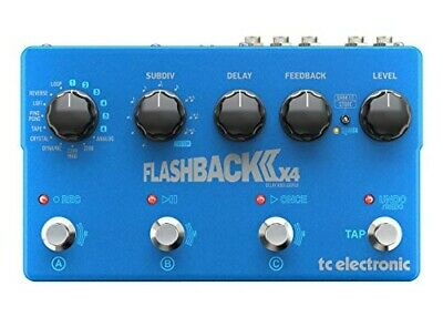 Tc Electronic Flagship DELAY Pedal FLASHBACK II X4 DELAY • 264.87£