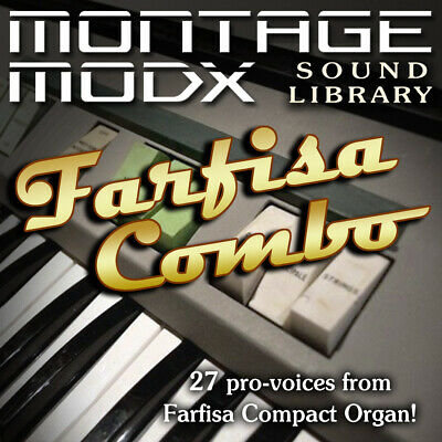 FARFISA COBMO - Expansion Sound Library For Yamaha Montage & ModX (6/7/8) • 8.59£