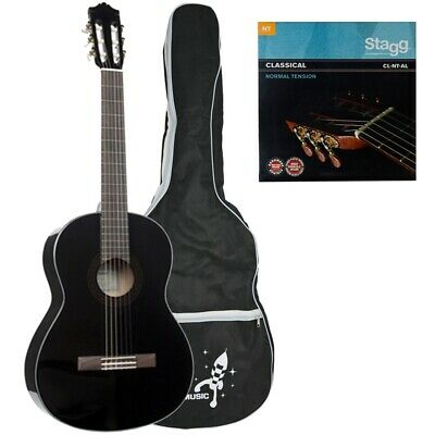 Yamaha C40BL Full Size Classical Guitar Package • 173.01£