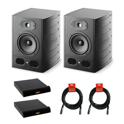 Focal Alpha 65 6.5  Pro Monitor Speaker (Pair) W/ 2x Large Pad & 2x XLR Cable • 587.59£