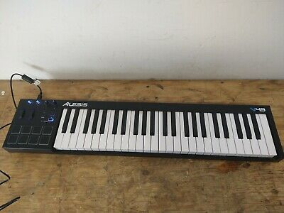Alesis V49 49-key MIDI Keyboard Controller 8 Pads 4 Knobs (HE2029446) • 65.82£