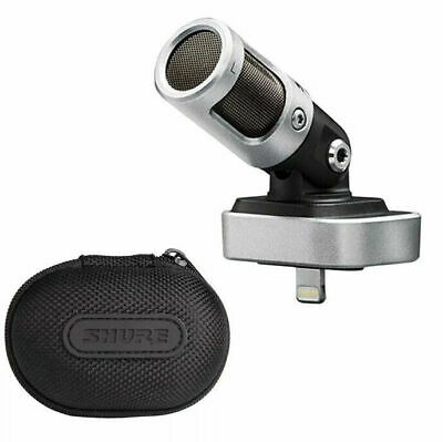 Shure MOTIV MV88 Digital Stereo Condenser Microphone For IOS Devices Excellent • 76.80£