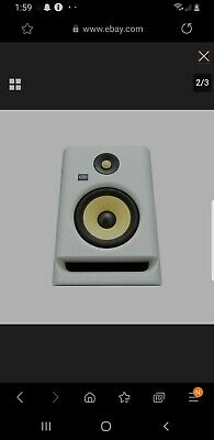 KRK ROKIT 5 G4 5  2-Way Active Studio Monitor (Single, White) • 117.03£