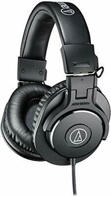 Audio-Technica ATH-M30x Professional Studio Monitor Headphones, Black • 90.49£