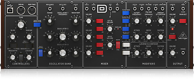 Behringer Model D Analogue Synthesizer W/ Triple VCOs • 199£