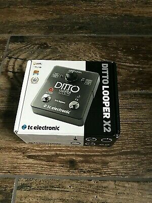 TC Electronic Ditto Looper X2 NEW! Cost £129.00!  • 91£