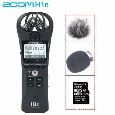 Zoom H1N Handy Portable Digital Recorder With BOYA BY-M1 Lavalier Microphone • 101.31£
